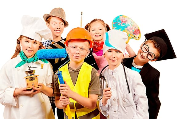 Дети разных профессий